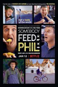 Comida para Phil. El cómico Phil Rosenthalrecorre el mundo en busca de las cocinas más populares . una gran series de viajes
