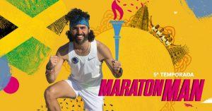 El actor Raúl Gómez recorre el mundo en Zapatillas en la serie Maraton Man