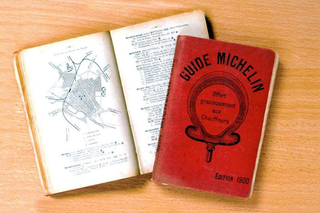 Historia de la guía Michelin